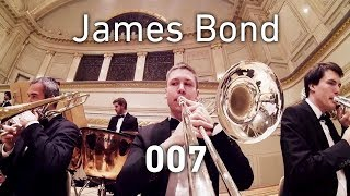 GoPro on Trombone: James Bond - 007