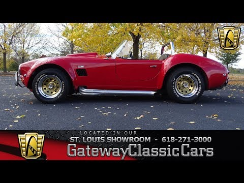 1965 AC Cobra Wescott Replica Stock #7505 Gateway Classic Cars St. Louis Showroom