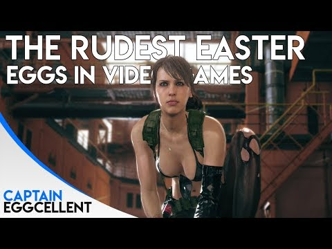 The Rudest Easter Eggs In Video Games