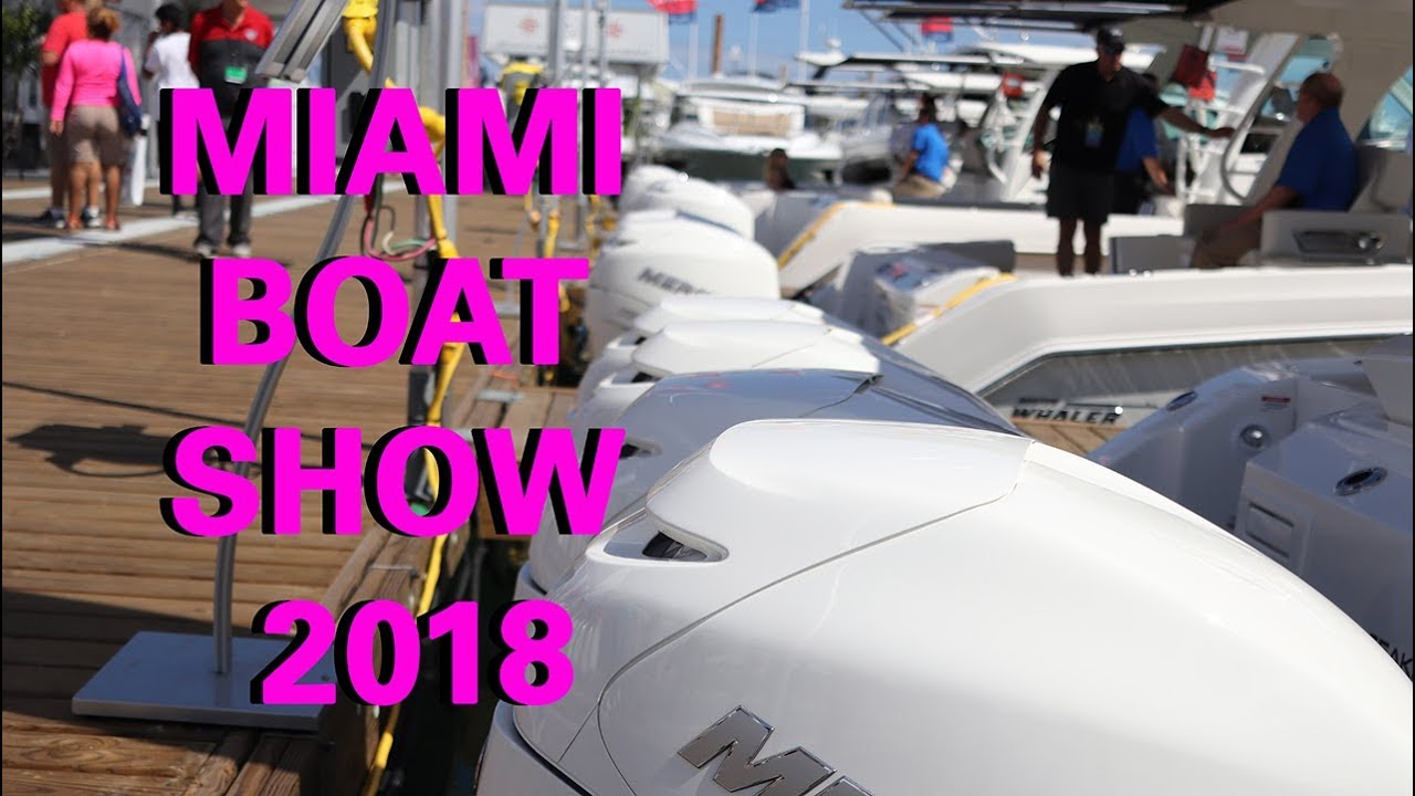 The boat show miami boat show 2018 youtube - Miami boat show ...
