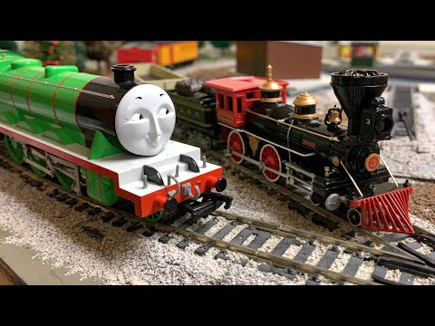 #3 Henry vs & The General &  – The Great Locomotive Chase – Bachmann Trains – Thomas & Friends HO