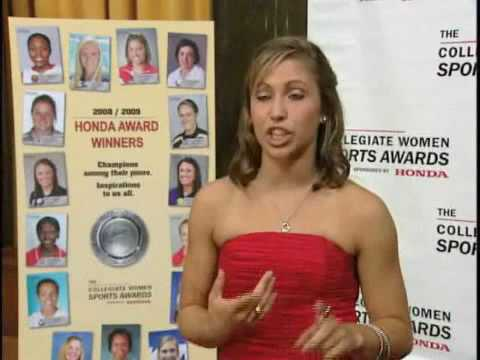 Gymnastics Star Courtney Kupets Awarded 2009 Honda-Broderick