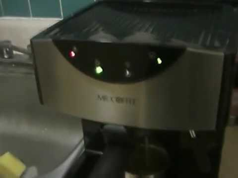 Perfect espresso coffee make machine