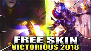 NEW VICTORIOUS ORIANNA FREE SKIN 2018 Teaser Preview - League of Legends