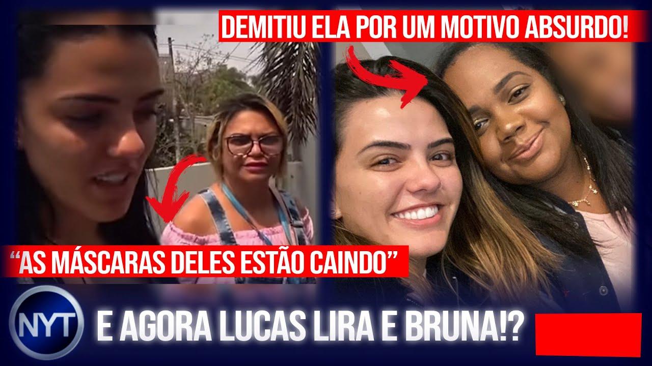 Ex-empregada do Lucas Lira e da Bruna revela o que eles fizeram com ela e por que foi demitida