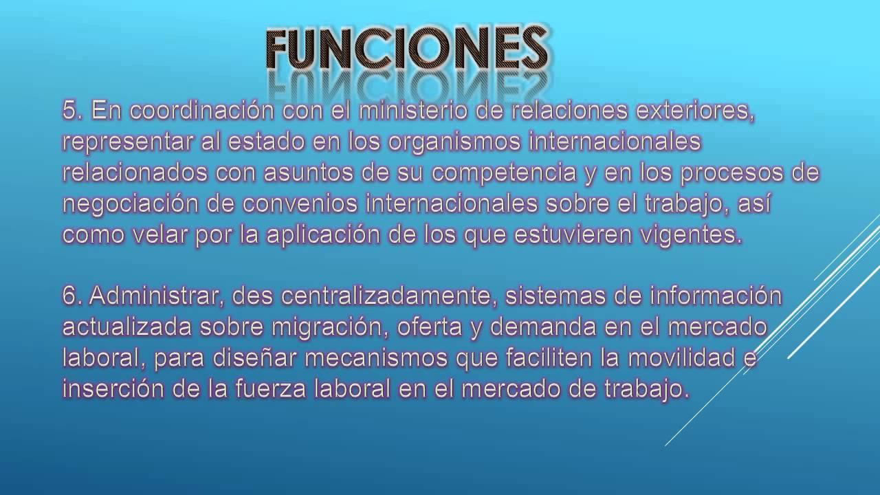 Ministerio de trabajo guatemala youtube for Cursos de la oficina de empleo