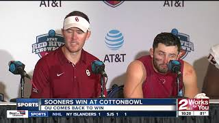 Baker Mayfield's 59 yard touchdown pass to Mark Andrews gives Oklah...