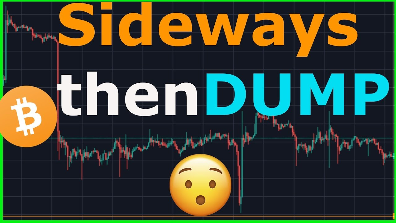 Bitcoin Dump is moments away ? What's is the smartest thing to do in a BTC downtrend ?