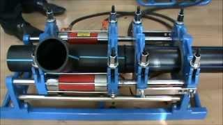 видео Монтаж и сварка пластиковых труб ПВД ПНД