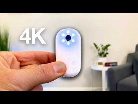 $99 AKASO Keychain Camera Review (vs Insta360 GO)