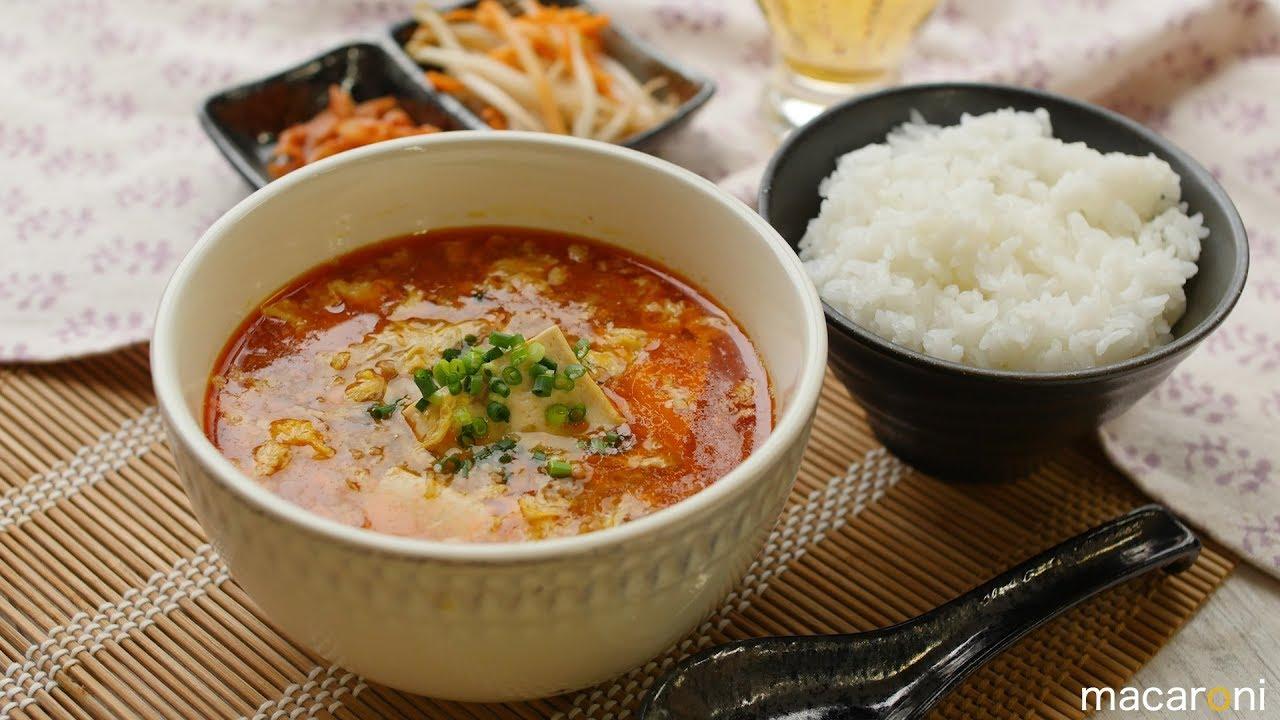 スープ 豆板 醤