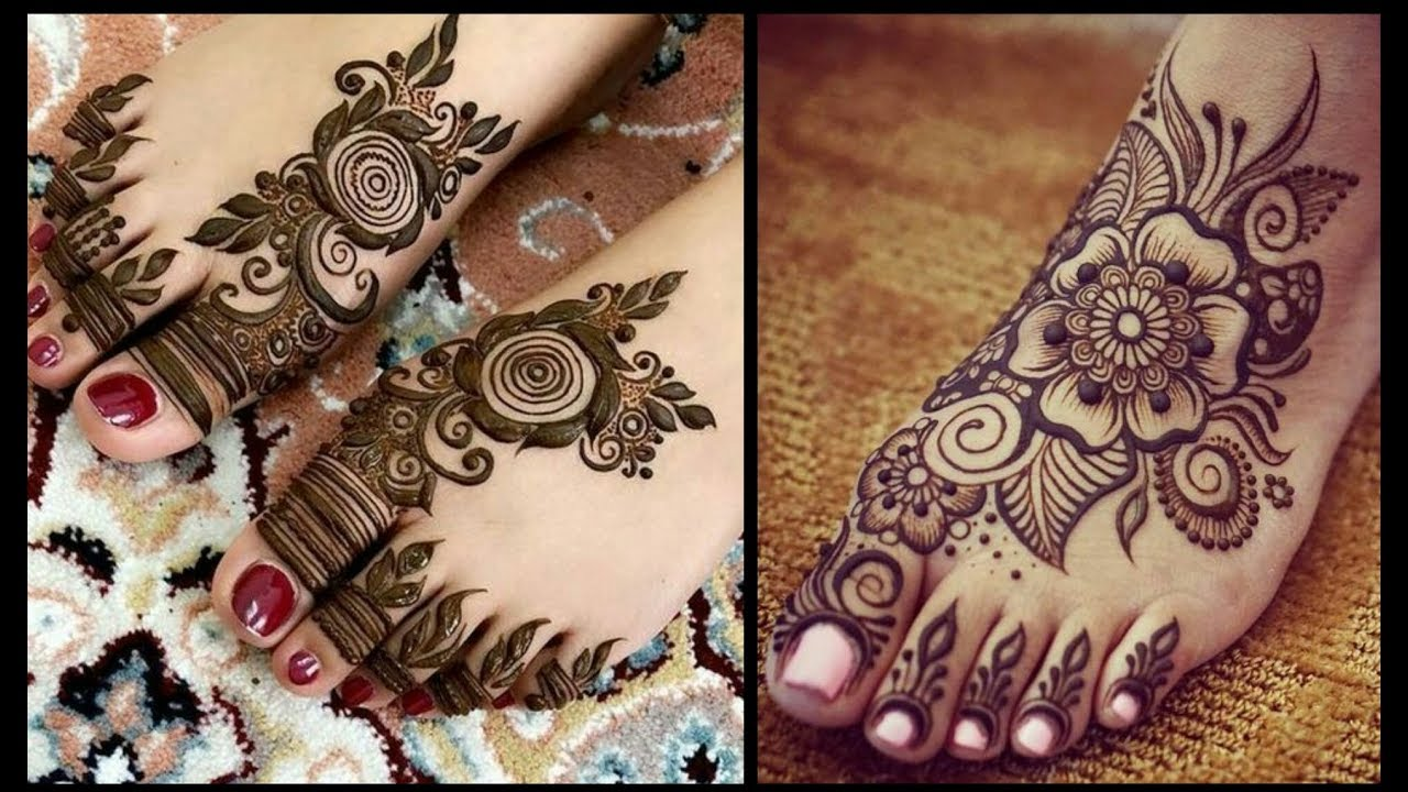 Beautiful feet Mehndi designs 2019