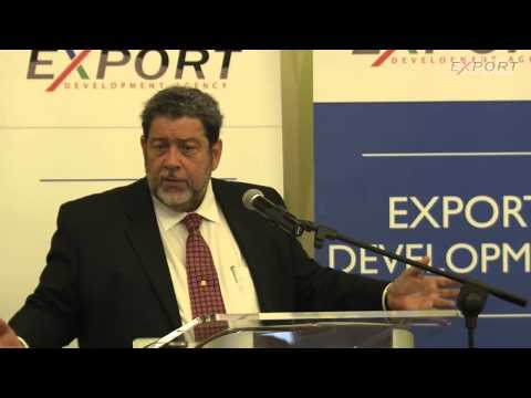 Lunch & Keynote Address- Dr The Honourable Ralph Gonsalves