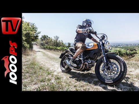 Ducati Scrambler Offroad Test 2015 - Urban Enduro - Classic