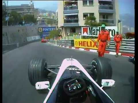 Formula One - 2000 Monaco Grand Prix Highlights (Onboard) - F1