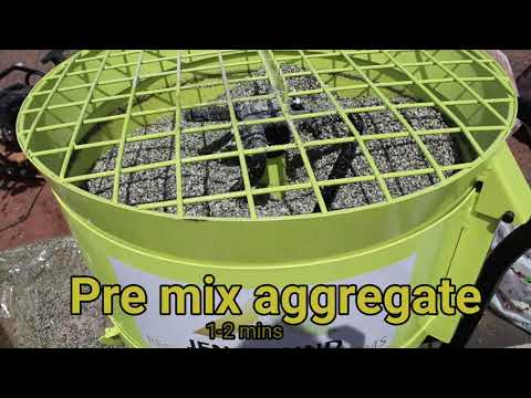 How to lay a resin bound driveway on top of a grid system