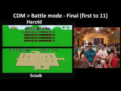 SMK World Championships 2013 / Battle Mode  Final Harold VS Scoub