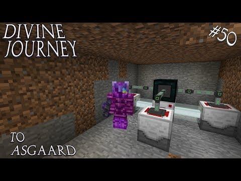 Minecraft 1.7.10 Divine Journey Ep 50: Laser Drilling