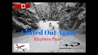 Cliffed Out AGAIN, this time on Khybers with a Random Dude hucking a 60ft cliff! at whistler