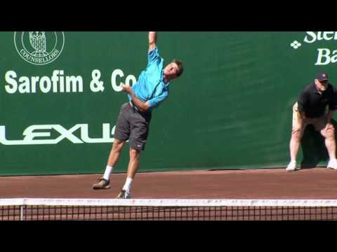 On Court with USPTA: Developing the Serve with Jeff Salzenstein