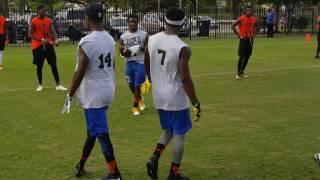 Duke Johnson 7v7 tournament Miami Northwestern vs Boyd Anderson YouTube Videos