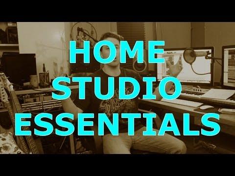 The 5 Essentials For A Home Studio