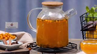Видео рецепт «Облепиховый чай»