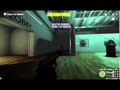 PAYDAY 2 - Art Gallery Deathwish Solo Assault, No AI, No assets, no DLC weapons (used 1 grenade)
