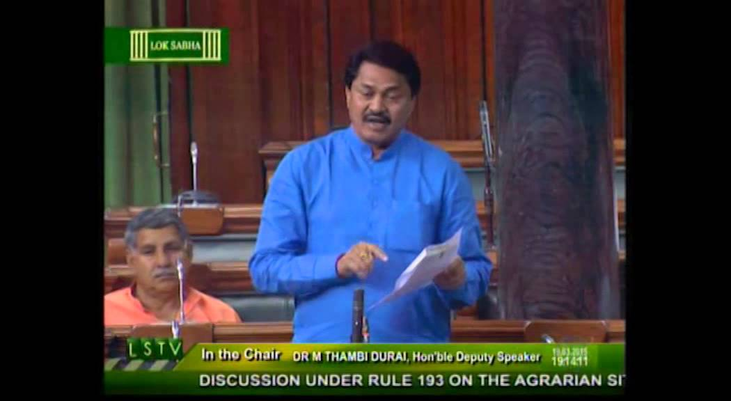 c449b496c72a Discussion under rule 193 on the Agrarian situation in the country  Shri  Nanabhau Patole  19.03.2015