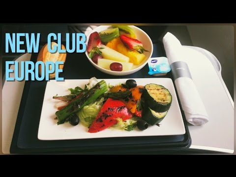 British Airways New Club Europe Flight Experience, Malaga - London Gatwick