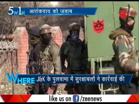 5W1H: Four soldiers, including Major, martyred in encounter with terrorists in Pulwama