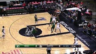 Joshua Davis posts 20 points & 11 rebounds vs. the Bighorns, 1/11/2015