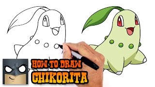 How to Draw Chikorita | Pokemon