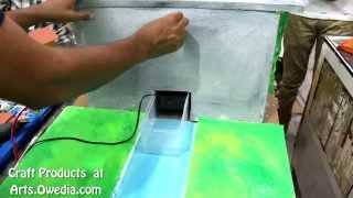 Water Dam Project Working Science Craft Model
