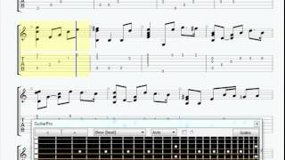 A Time For Us easy guitar tab