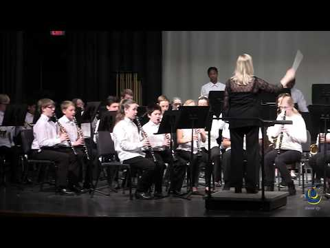 Apex Middle School 8th Grade Band performs Psalm 42 on 3/19/2019