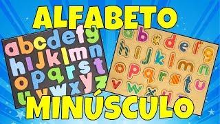 Aprender o Alfabeto Minúsculo | Alfabetização de Crianças | Vídeo Educativo Infantil | Brink&Aprenda