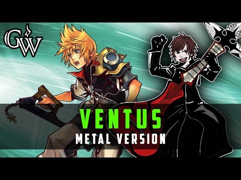 KINGDOM HEARTS METAL ► Ventus Theme | Guitar Cover