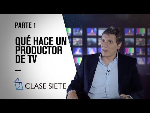 Qué hace un PRODUCTOR de TV - Gerardo Brandy  - Parte 1 - CLASE SIETE