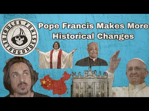 Pope Francis Makes More Historical Changes