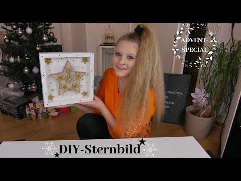 diy-sternbild-|-stern-in-ribba-rahmen-|-❄-advent-special-❄-|-no.4-|-katherina-kathi