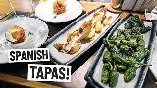 Spanish Food - DELICIOUS TAPAS at Barcelona