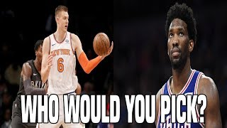 WHO WOULD YOU RATHER HAVE ON YOUR TEAM? NBA EDITION