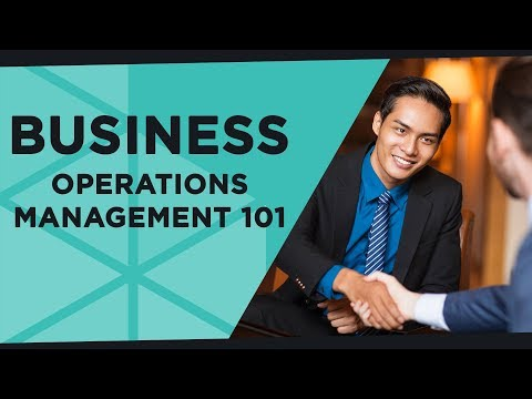 Business Operations Management 101