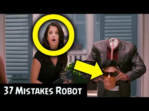 Robot (Enthiran) Movie Mistakes | Rajinikanth | Aishwarya Rai | MOVIE MISTAKES