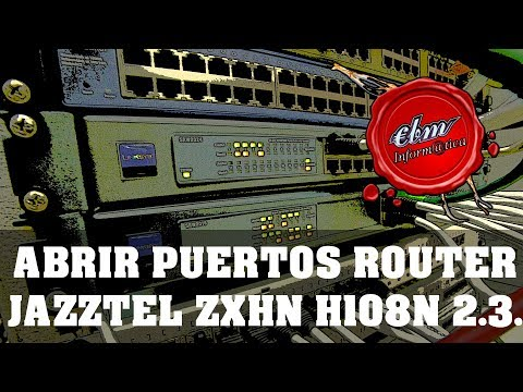 How to Port Forward on ZTE ZXHN H108N modem [The correct way