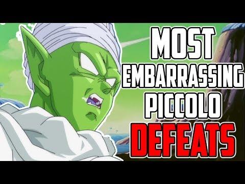 5 Most EMBARRASSING Piccolo LOSSES In Dragon Ball