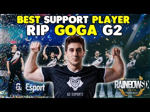 Why Siege Community Loves Goga | G2 Tribute | Best Support Player In Pro League
