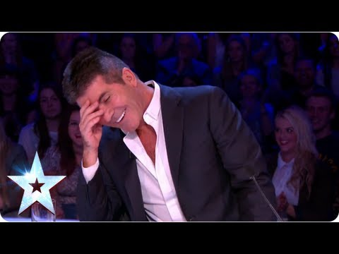 What is David Walliams dying to know about Simon Cowell | Semi-Final 3 | Britain's Got Talent 2013
