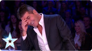 What is David Walliams dying to know about Simon Cowell | Semi-Final 3 | Britain